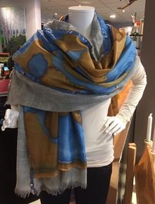 handgemaakte zijden sjaals