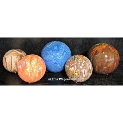 Decoratieve bollen - Erna Wagensveld