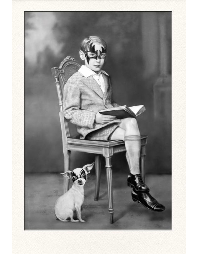 Zoé Byland Boy and Dog