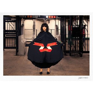 Sarah Maple Anti Rape Cloak Subway