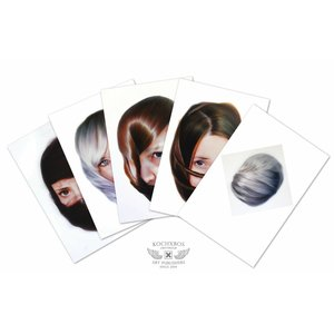 Roos van der Vliet Storytellers card set with 5 cards