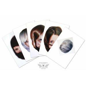 Roos van der Vliet Storytellers card set with 5 cards