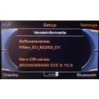Audi MMI 3G 2015 mise à jour de logiciel