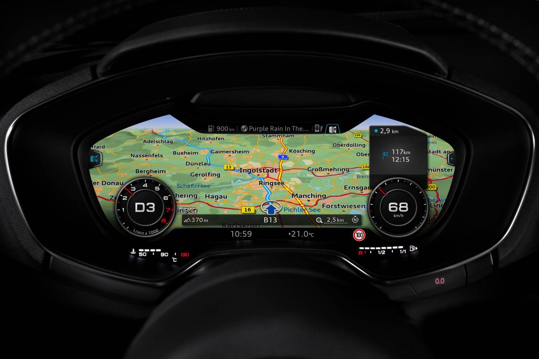 Audi TT en TTS Virtual Cockpit