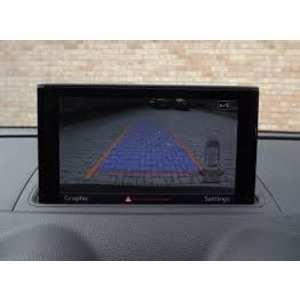 Audi A3 8V Rearview Camera retrofit includes assembly