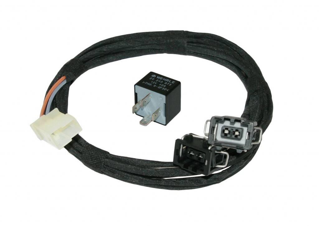 fog light wiring - harness w  relay - vw golf 2
