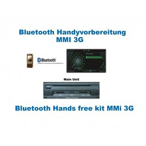 "Bluetooth Handsfree- Audi with MMI 3G ""Bluetooth Only"""