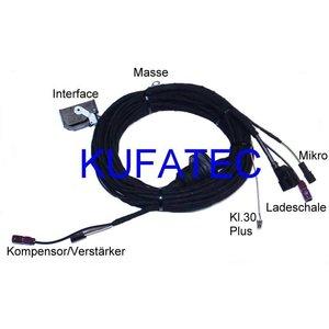 "Bluetooth Handsfree- Harness- Audi A4 8K, Audi A5 8T ""Complete"""