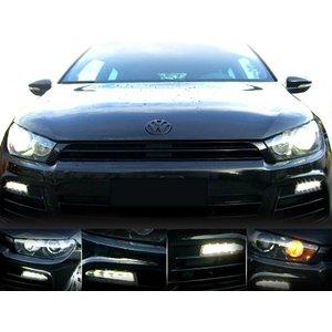 LED Daytime Running Lights - Lights - VW Scirocco 1K