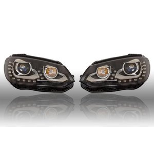 Bi-Xenon Headlights LED DTRL - Upgrade - VW EOS 2012