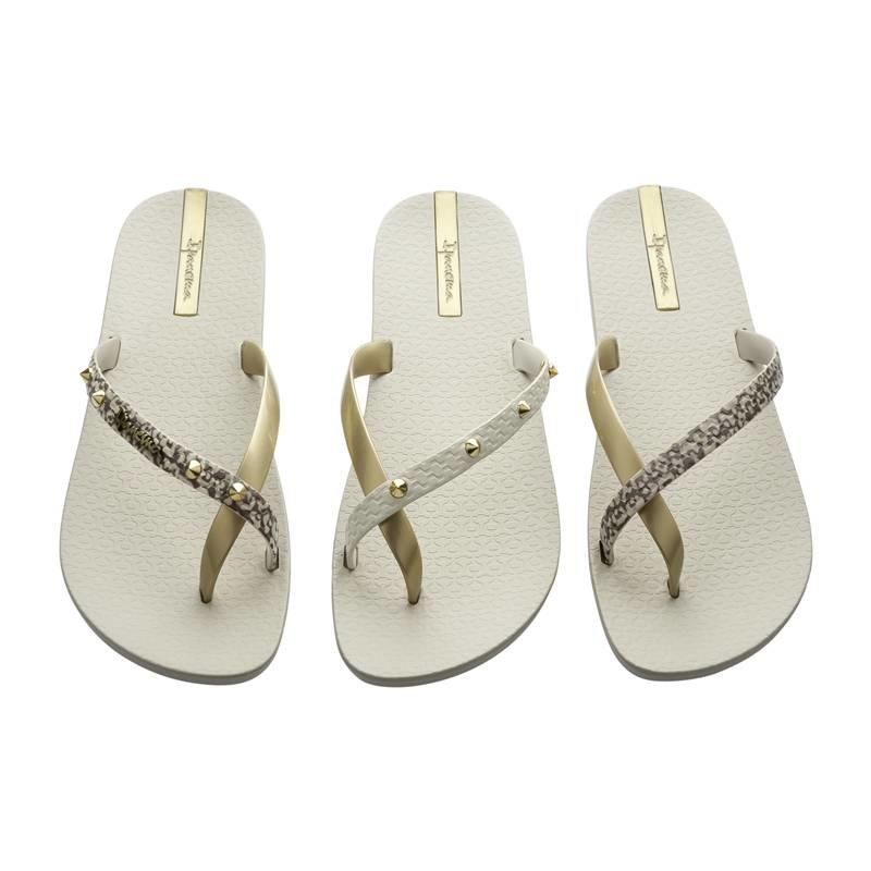 Ipanema teenslippers pair of 3 beige/goud