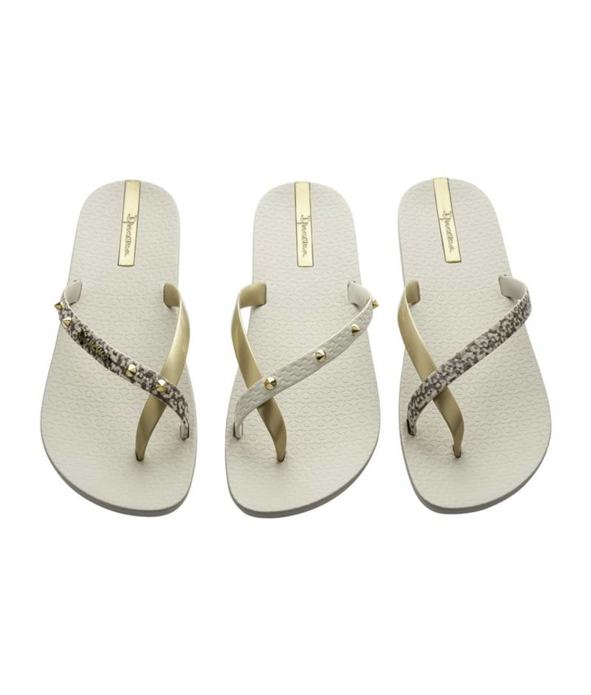Ipanema teenslippers pair of 3 beige/goud