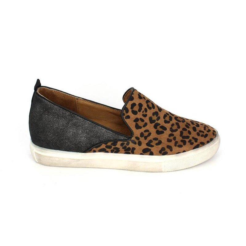 La Strada Slip on sneaker leopard