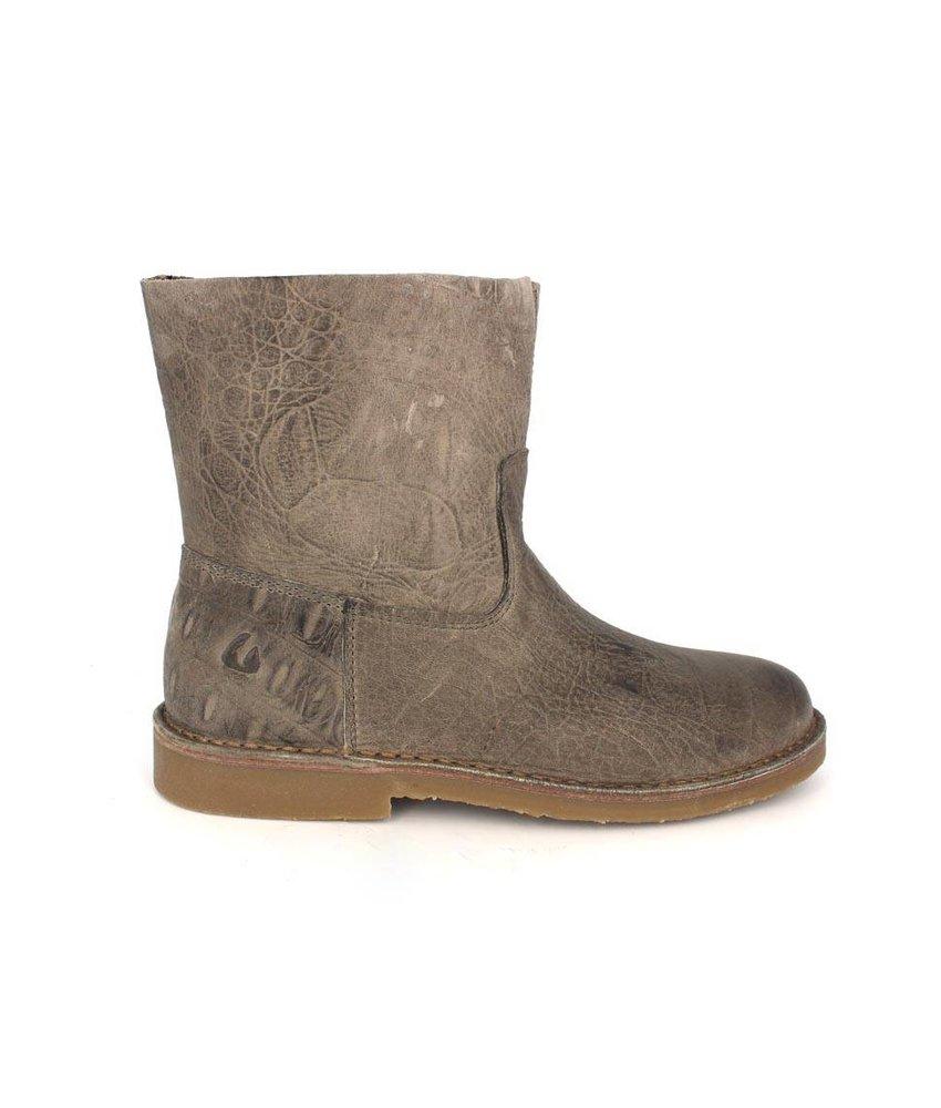 Online Shoes Enkellaarsjes leder