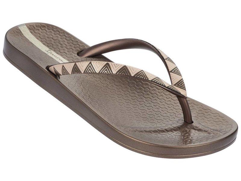 Ipanema slippers metalic