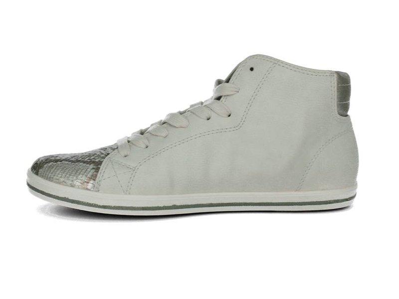 s.Oliver Hoge sneakers lichtgrijs