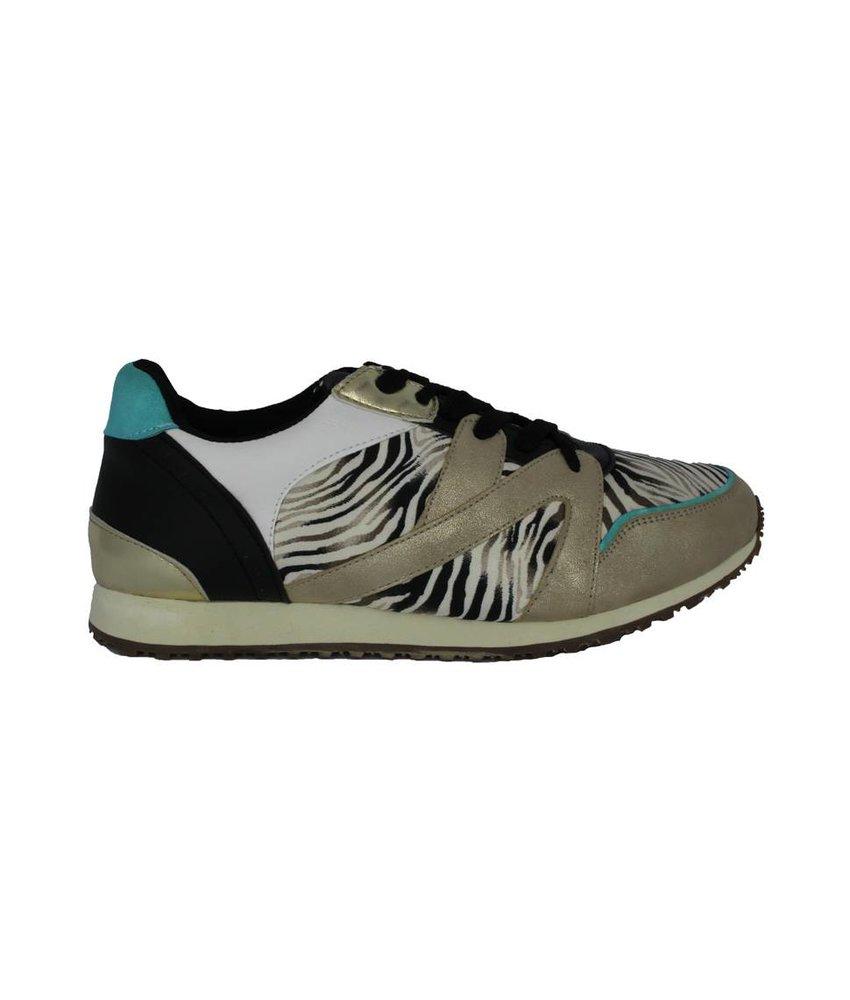 Super Cracks Sneakers zebra