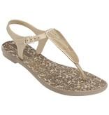 Grendha slippers Savannah goud