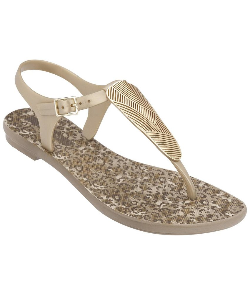 Grendha slippers Savannah goud