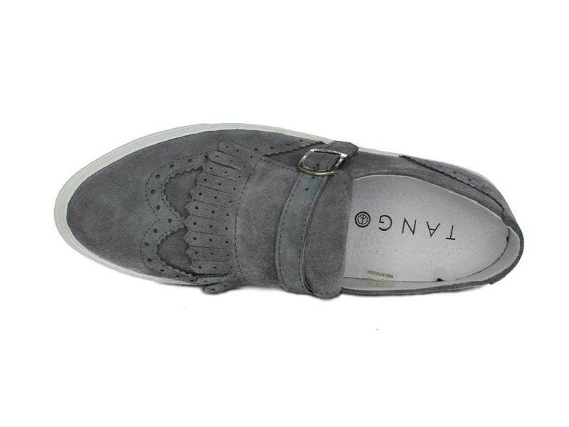 Tango Shoes Grijze instapper suède