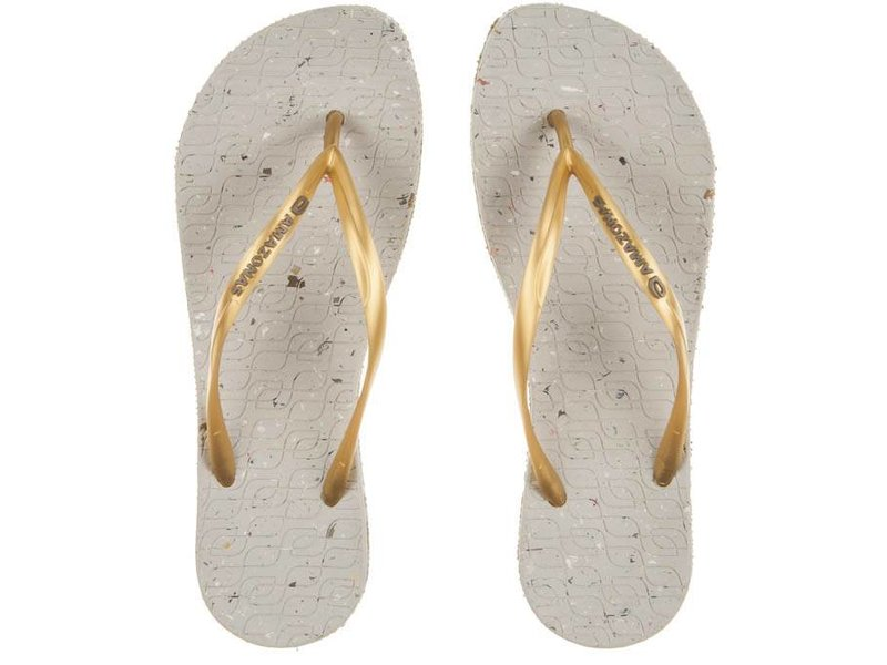 Amazonas slippers recycled gold