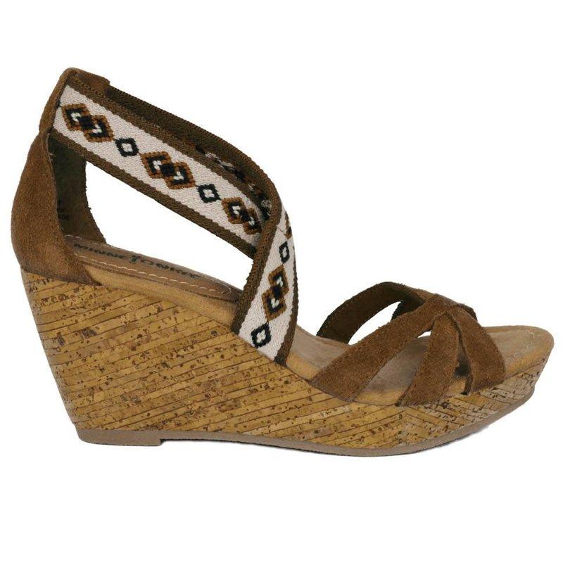 Minnetonka Sleehak sandalen bruin