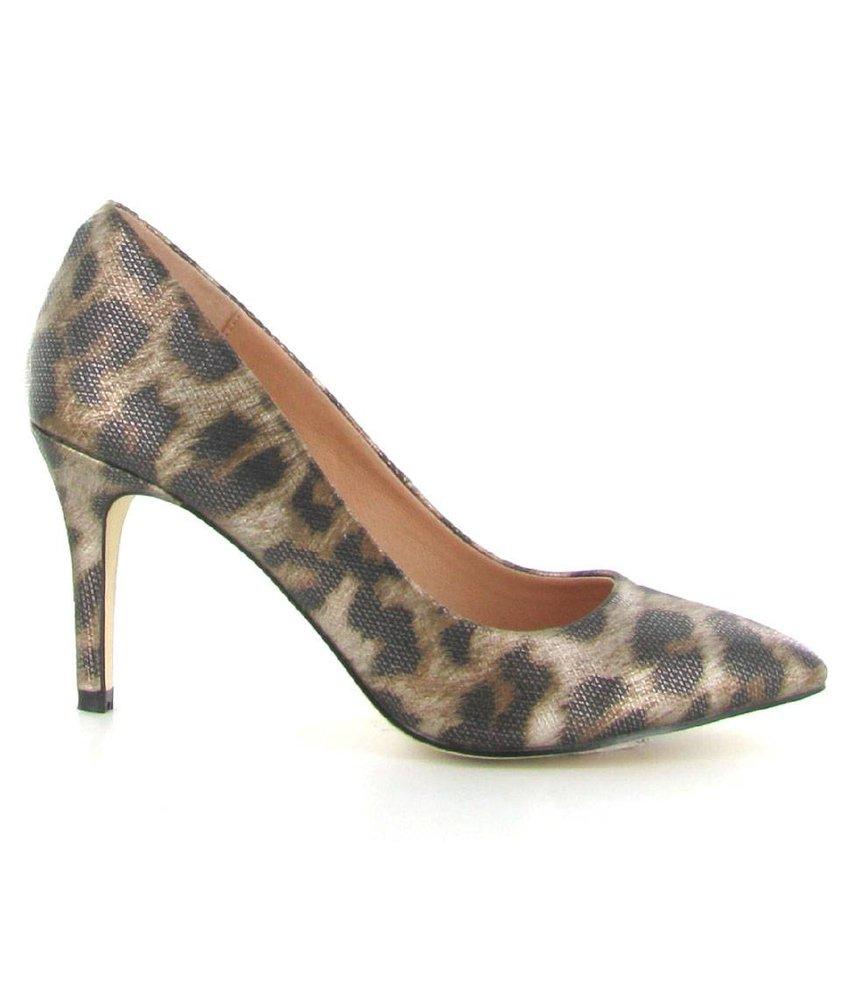 La Strada Spitse pump leopard