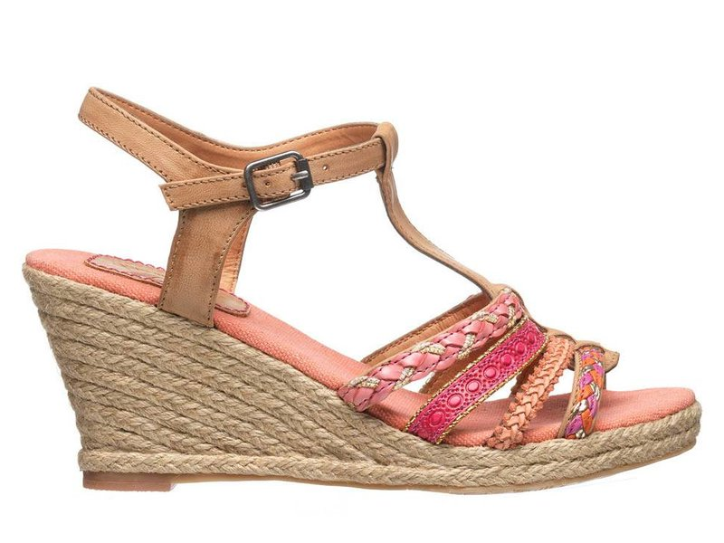 Fritz aus Preußen Ibiza style sandalen roze