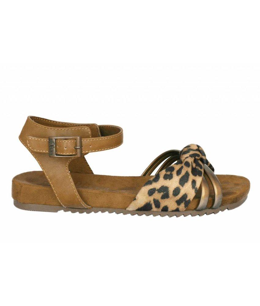 s.Oliver sandalen leopard