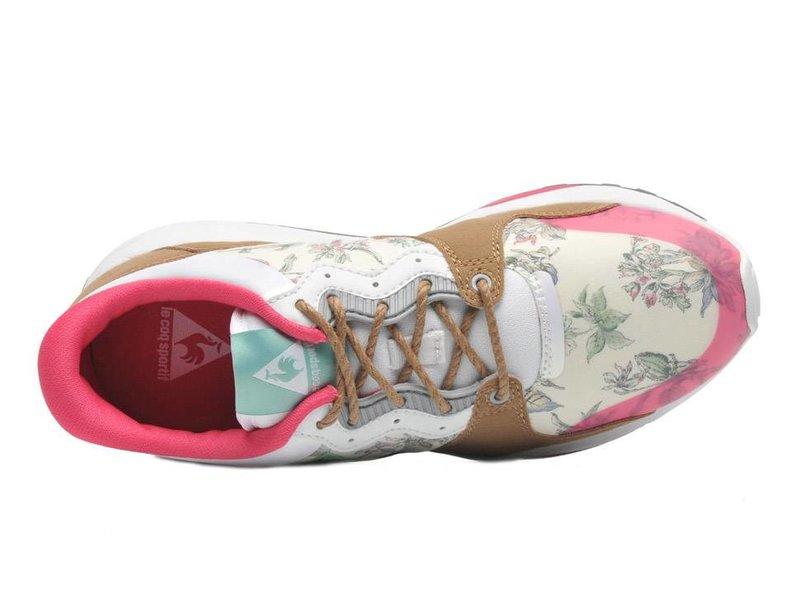 Le Coq Sportif Sneakers flower roze