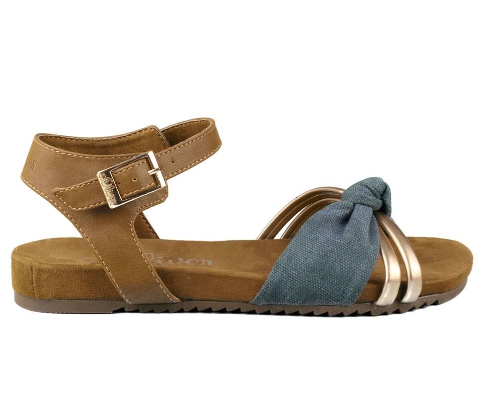 Sandalette Damen sOliver dunkelblau Sehr Günstig YvFB4PX5d ... e49333ebae
