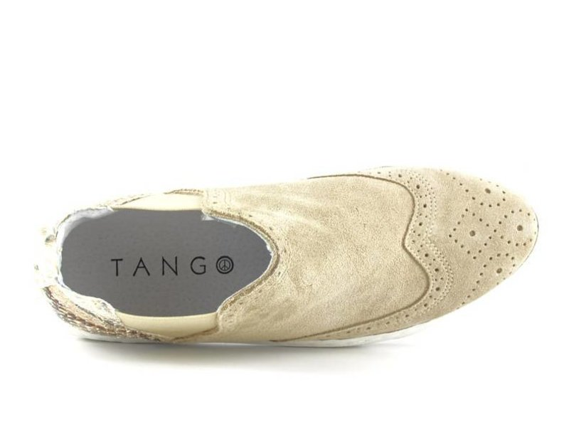Tango Shoes Chelsea instapper suede