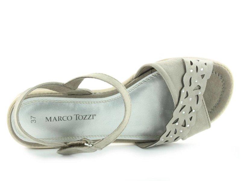 Marco Tozzi Sandalen taupe