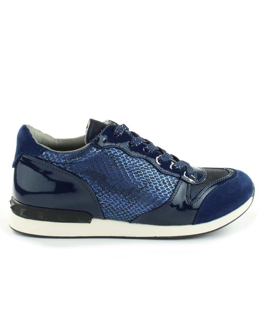 La Strada Sneaker dark blue snake