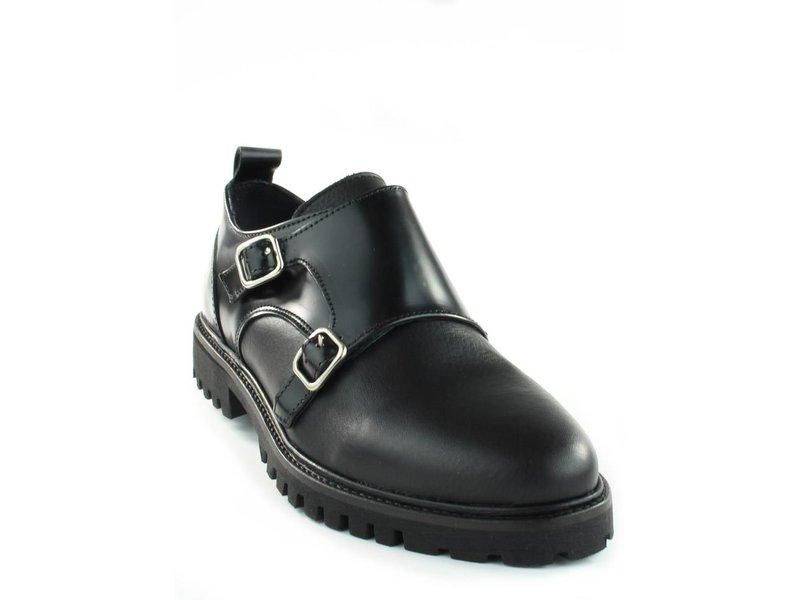 Tango Shoes Loafers zwart leder