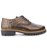 Tango Shoes Veterschoen brons