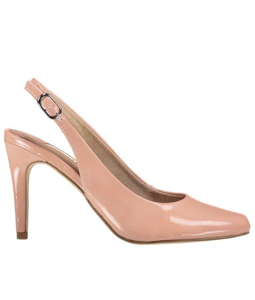 Tamaris roze slingback pumps