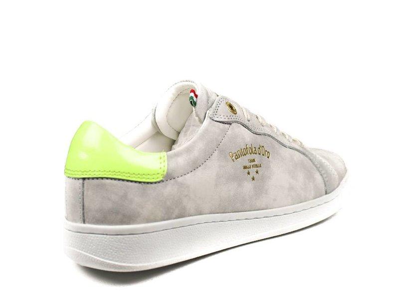 Pantofola d'Oro sneakers lichtgrijs leder