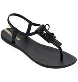 Ipanema slippers charm zwart