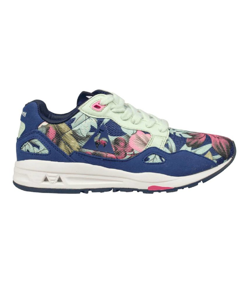 Le Coq Sportif sneakers bloemenprint blauw