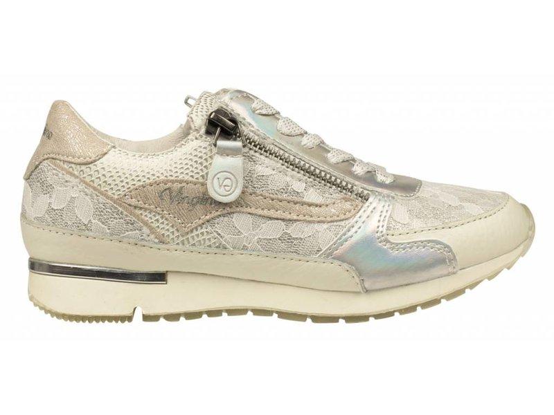 Vingino sneakers terra wit/zilver