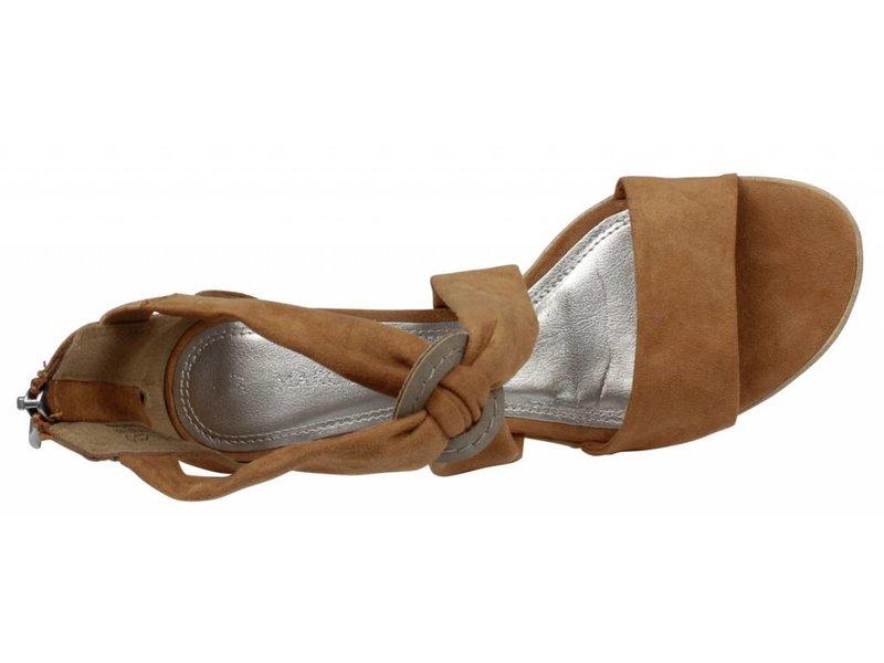 Marco Tozzi sandalen cognac