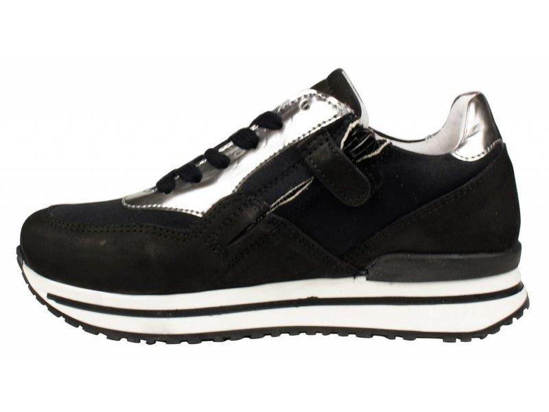 HIP sneakers zwart nubuck
