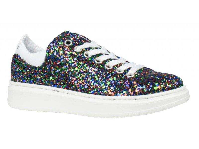 HIP sneakers leder glitter