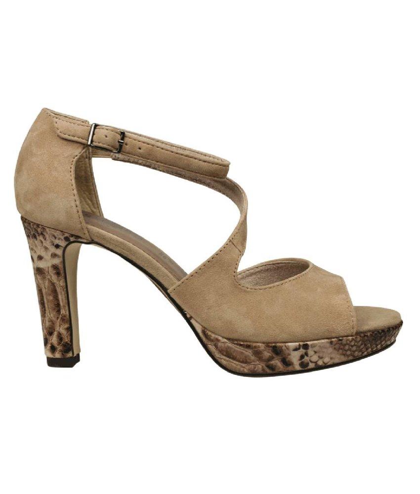 Chaussures S.oliver Avec Talon Bloc Avec L'entrée Pour Les Femmes xFTkL