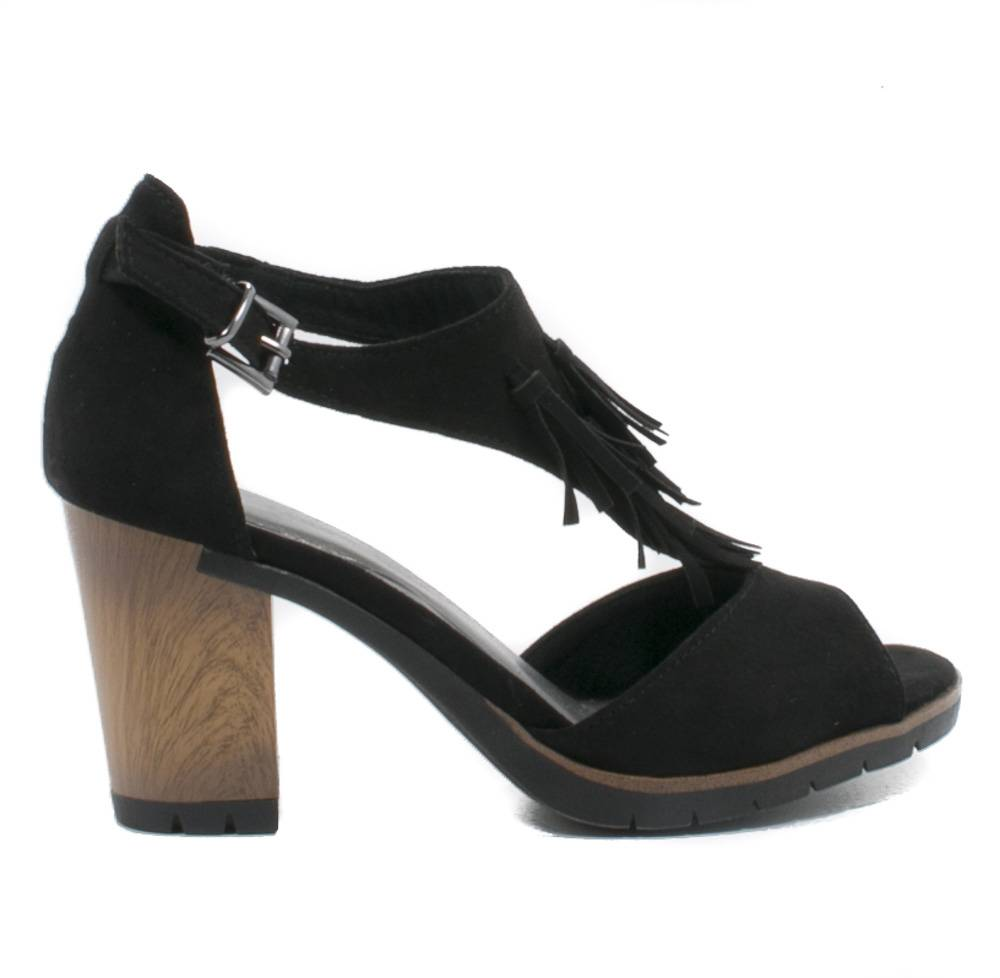 marco tozzi sandalen zwart. Black Bedroom Furniture Sets. Home Design Ideas
