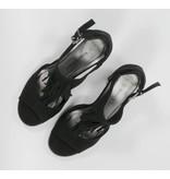 Marco Tozzi sandalen zwart