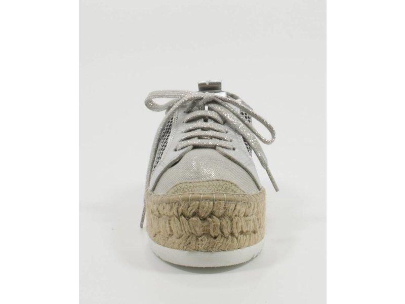 Vidorreta Espadrilles sneakers zilver