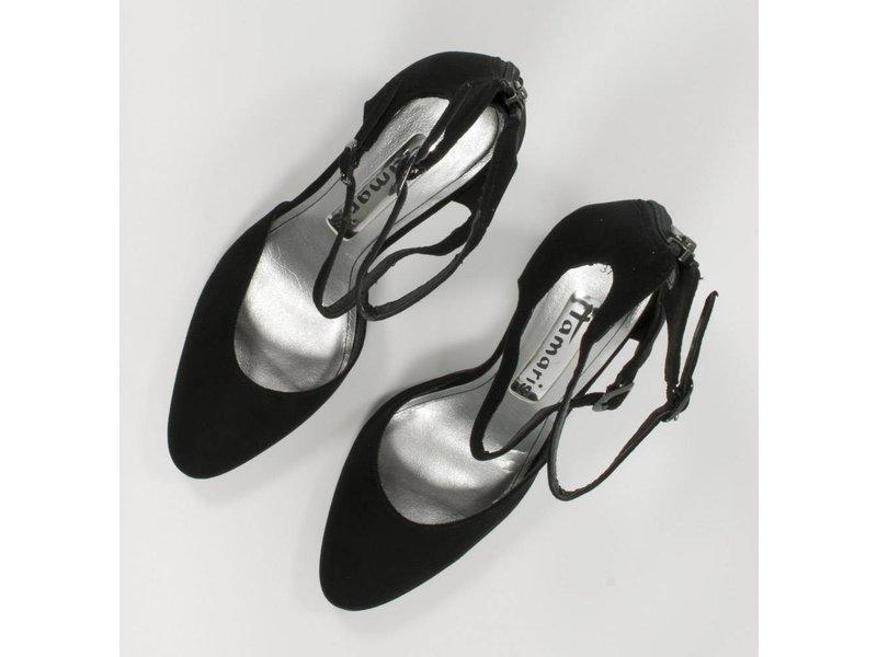 Tamaris Hoge zwarte sandalen