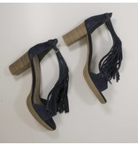s.Oliver premium Lederen Boho sandalen navy